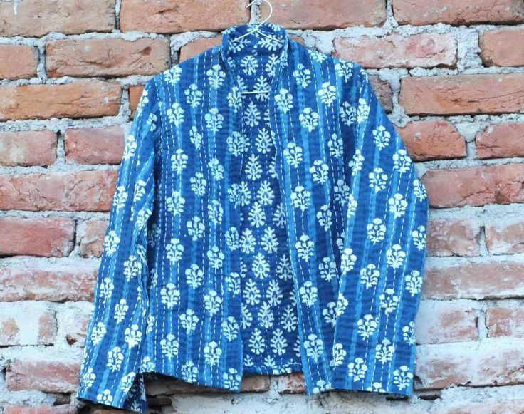 And our very own indigo print jacket. a smart look to carry in any season!!!