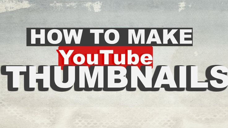 How to make a YouTube thumbnail with PicMonkey