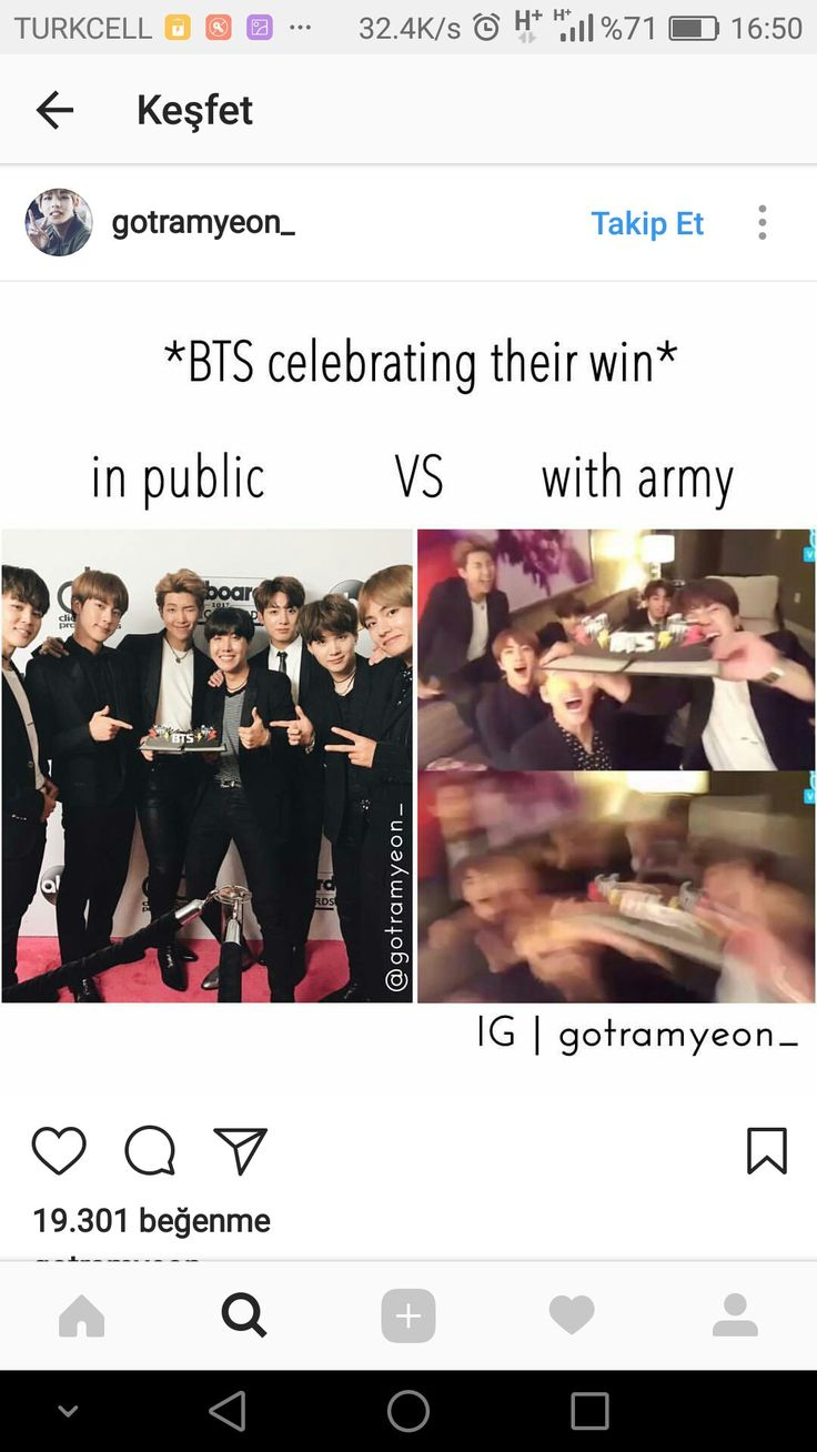 I love that they can be comfortably crazy and dorky with us armys!