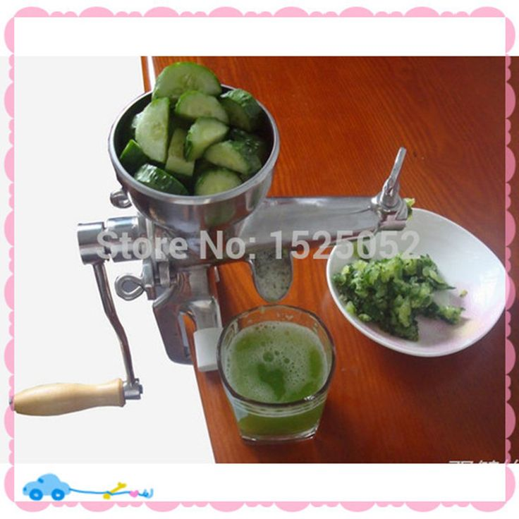 healthy mini manual juicer with good price