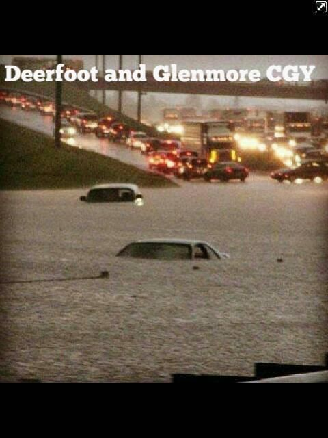 Deerfoot and Glenmore Trails: Calgary Roads