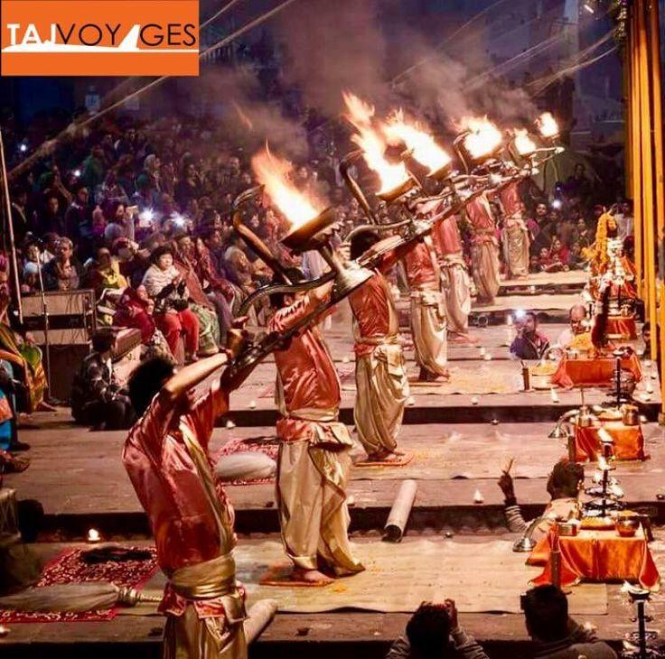 Ganga is more than a river to Indians. Once in a lifetime everyone should witness the goddess Ganga aarti at Dashashwamedh Ghat at Varanasi. www.tajvoyages.com.au  #IncredibleIndia #TajVoyages #riverganga #varanasi