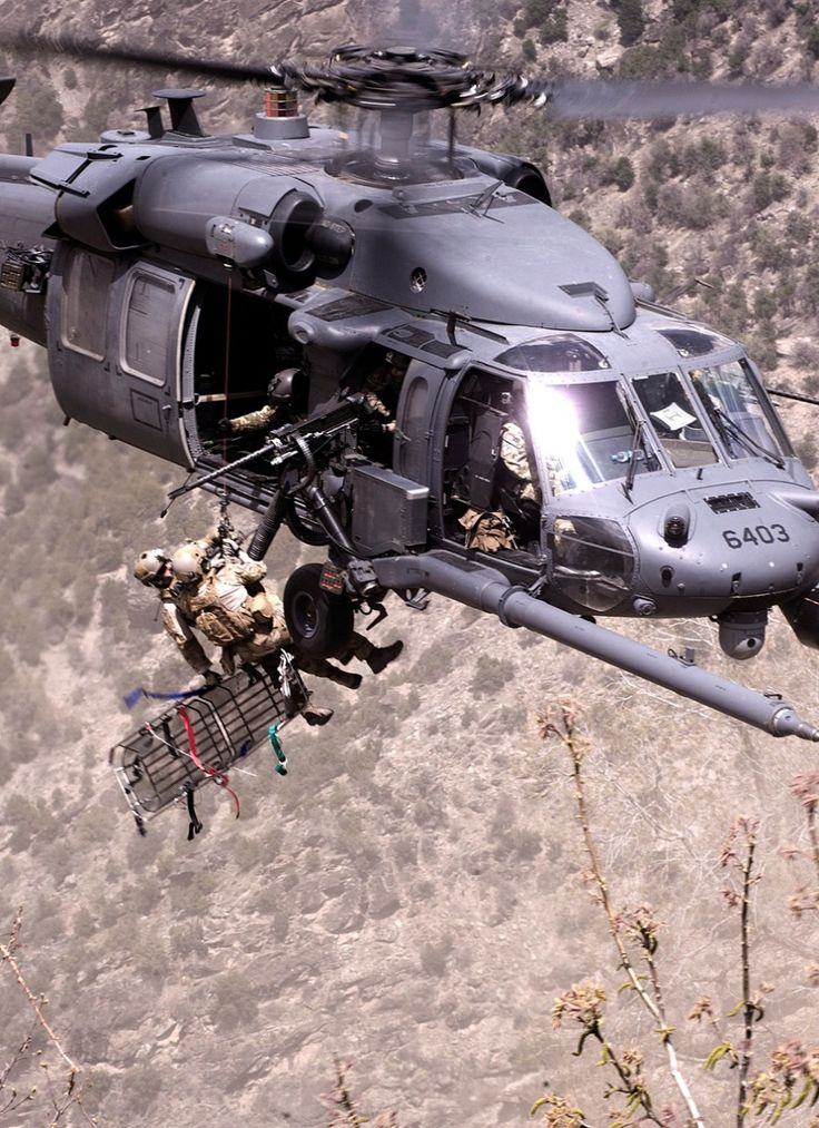 USAF Pararescue - Blackhawk