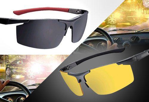 Jual Polarized Night Vision Sunglasses  Night Vision Sunglasses adalah kacamata hitam yang didesain untuk melindungi mata dari sinar matahari yang terlalu terang, dimana sinar tersebut mempunyai energi yang sangat kuat yang dapat merusak mata.