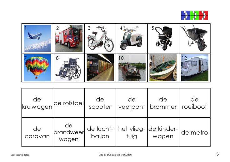 vervoermiddelen 11