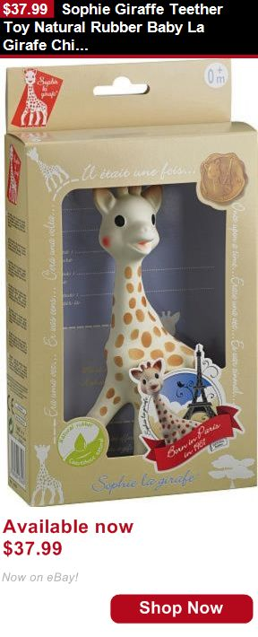 Teethers: Sophie Giraffe Teether Toy Natural Rubber Baby La Girafe Children S Soft Bath BUY IT NOW ONLY: $37.99