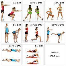 упражнения на ноги похудения
