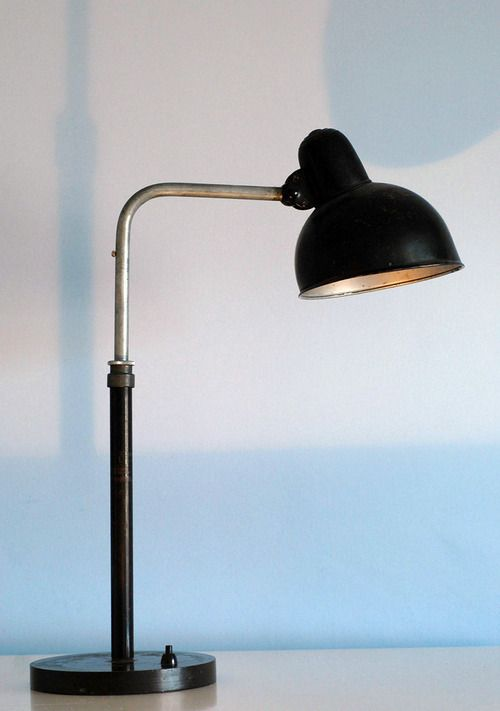 Fresh This modernist table lamp was designed by the Weimar Bauhaus teacher Christian Dell for the Kaiser pany in the It us an unmon slight variant of Dell us