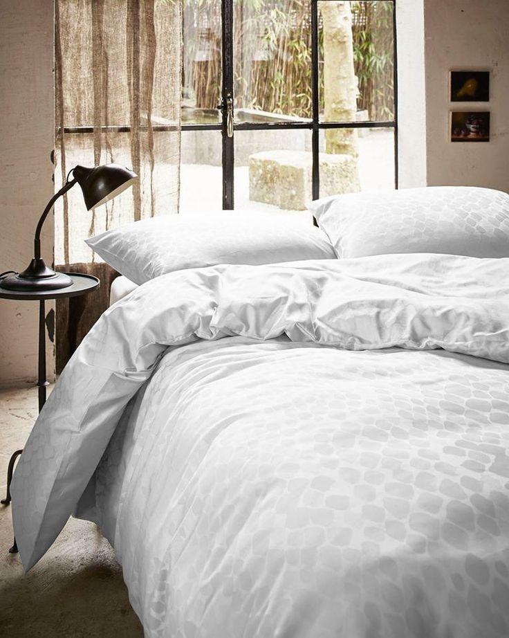 Essenza Nissa Wit Dekbedovertrek Slaapkamer Luxe Bed