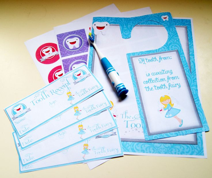 A whole set of Tooth Fairy Printables from #AmandaCreation