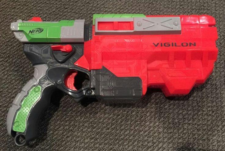 Nerf pistol before conversion