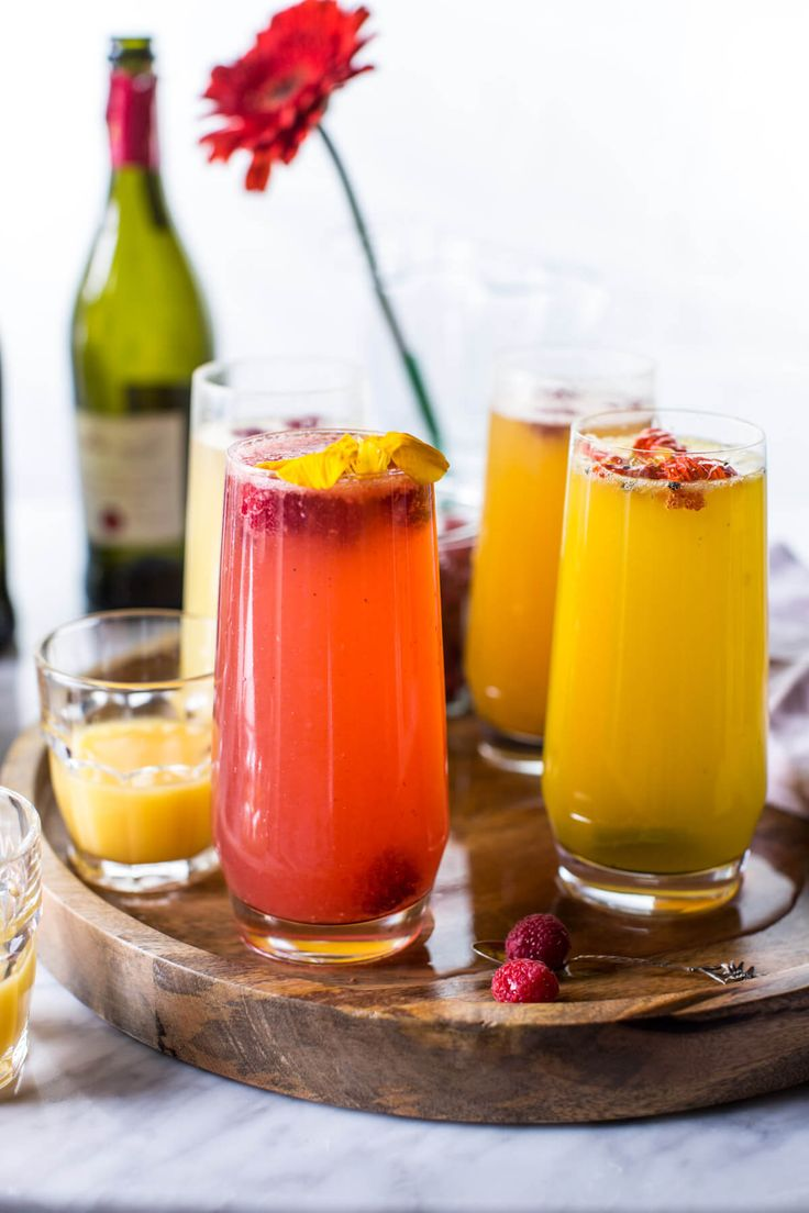 The Perfect Bellini Bar | halfbakedharvest.com @hbharvest