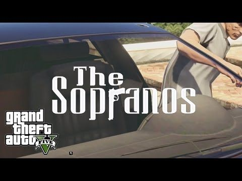 The Opening Credits Of 'The Sopranos' gets recreated with GTA 5