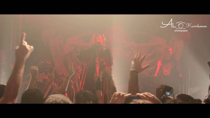 Vampiria - Moonspell live in Athens @t Kyttaro  Club 9/10, HD