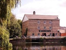 Former watermill now converted into a Bella Italia restaurant, used to be a great hamburger place. Cambridge