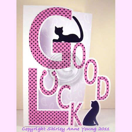 420 best plotter images on Pinterest Silhouette cameo - good luck card template