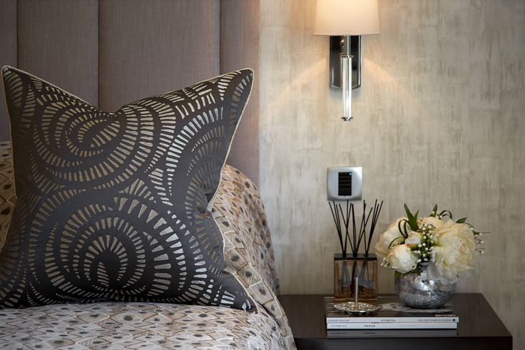 Master bedroom luxury details & accessories