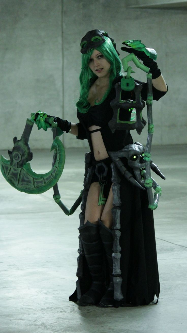 League of legends girl cosplay