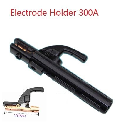 Welding Electrode Holder MMA 1.6mm to 4.0mm Holder Clamp 300A Copper Forging Tooth EN60974