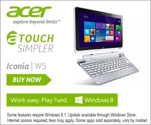 Win! One of two Acer Iconia W511 tablets worth R8 500 - htxt.africa