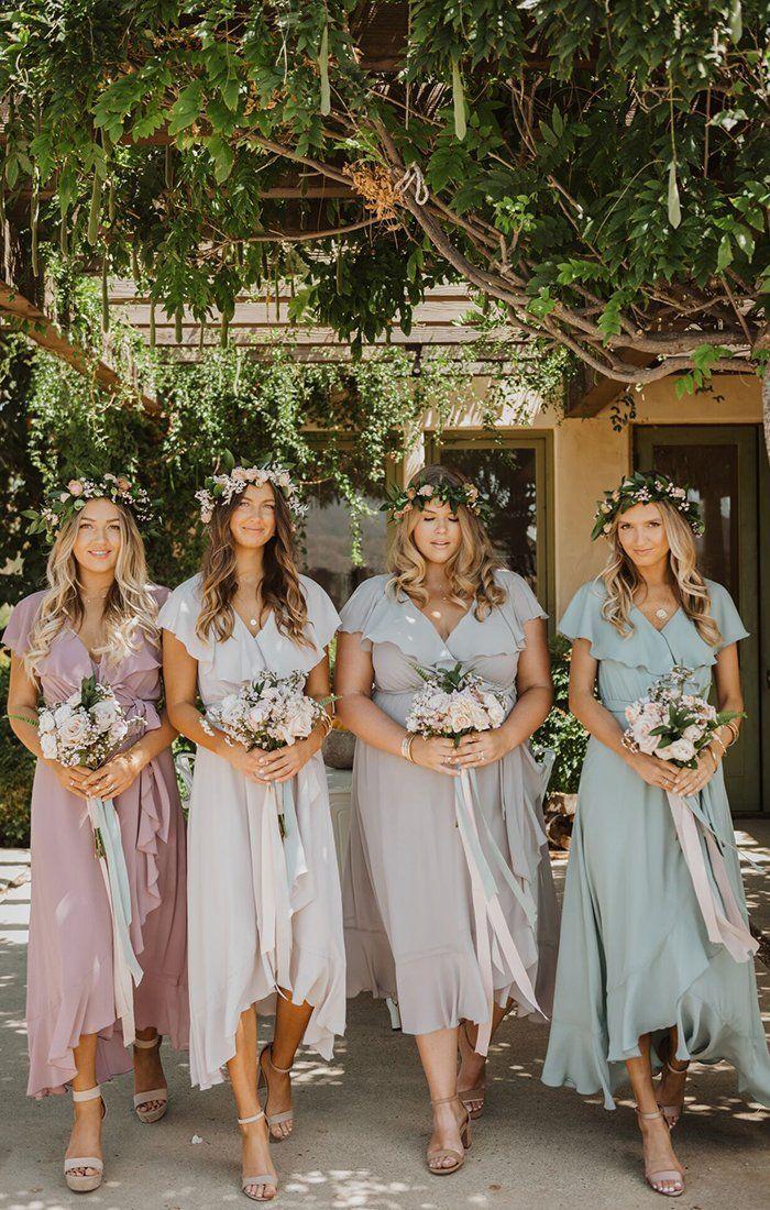 Show Me Your Mumu Bridesmaid Dresses Dress For The Wedding In 2020 Pastel Bridesmaid Dresses Mumu Bridesmaid Dresses Bridesmaid Dresses Boho
