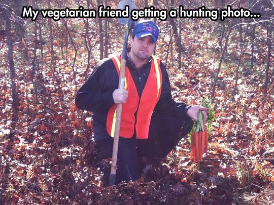 I AM TOTALLY DOING THIS AND TWEETING IT TO PETA!!! I love when #vegetarians and #vegans do clever things!