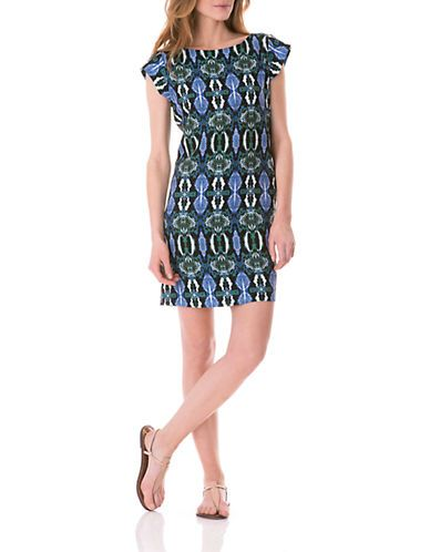 A great print with beautiful colors.  Snake Print Shift Dress | Pretty Little Liars