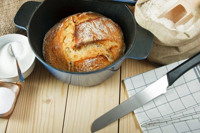 Pane senza impasto cotto in pentola: la ricetta veloce e gustosa