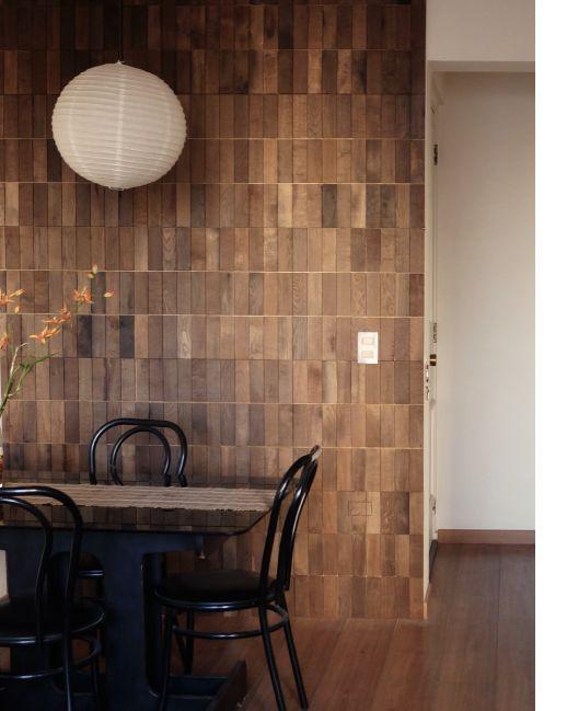 25 ideas destacadas sobre revestimientos en muros de - Revestimientos de paredes interiores en madera ...