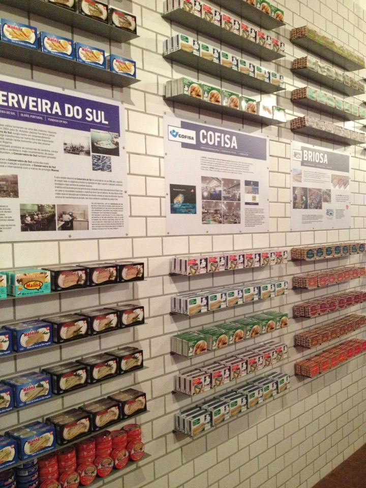 Loja Das Conservas - tinned sardines and tuna from every major manufacturer in Portugal