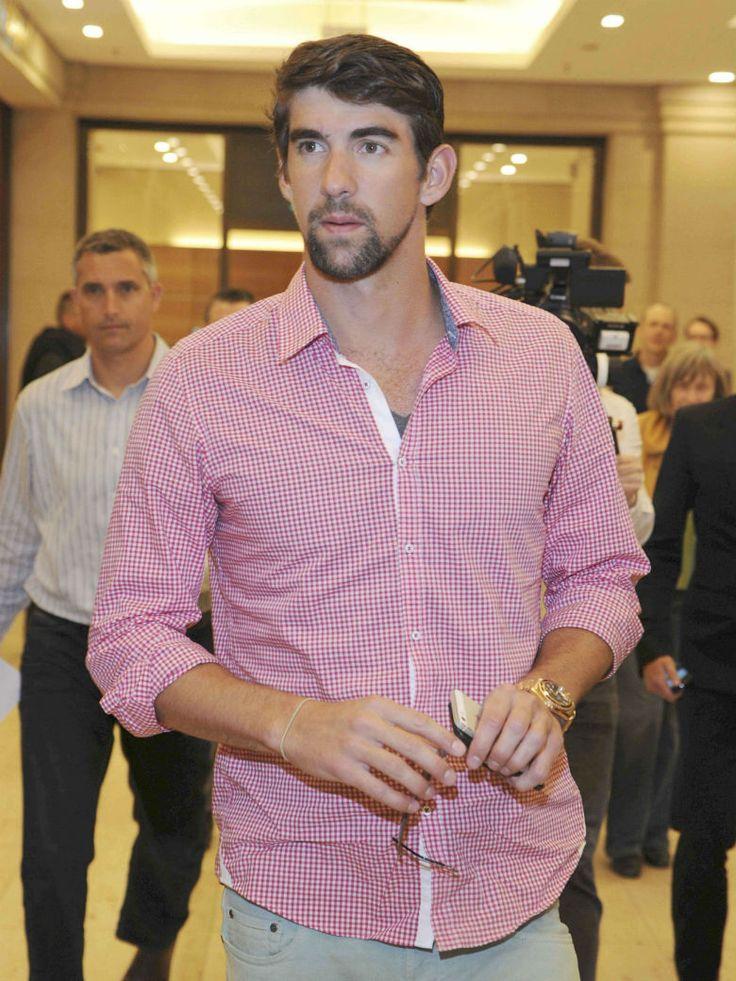 Arrêté pour conduite en état d'ivresse, le nageur Michael Phelps fait son mea...