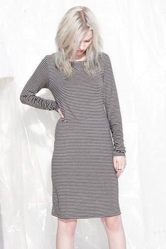 EVIL TWIN 'Bitter Haze Midi Dress'