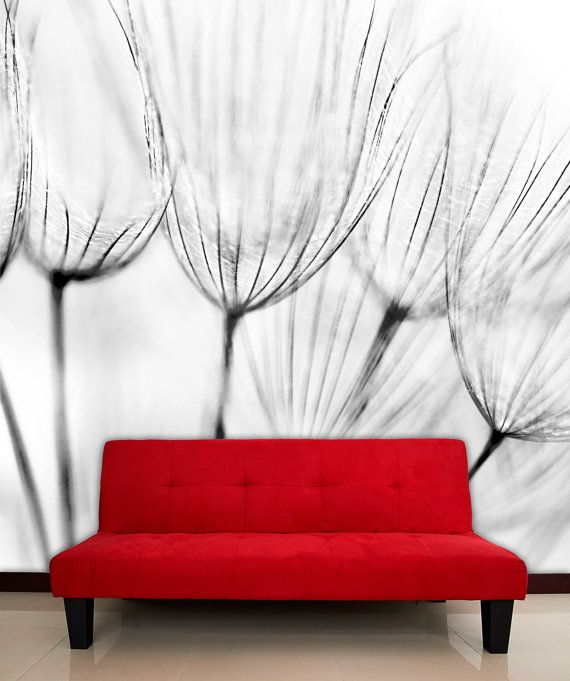 Dandelion flower Mural wall decal repositionable by StyleAwall, $339.99