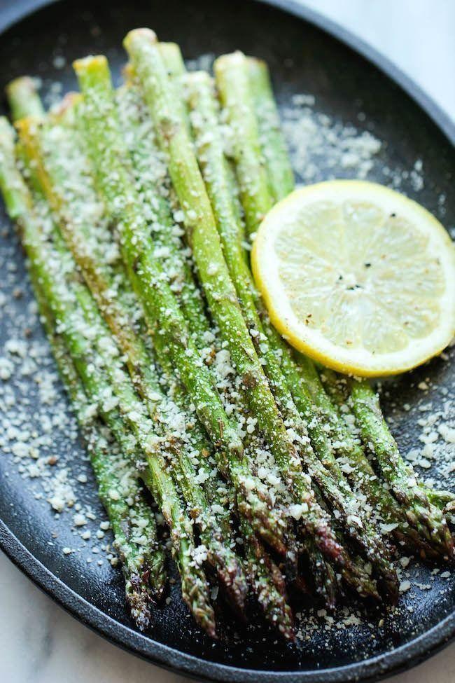 Roasted Asparagus via Bustle