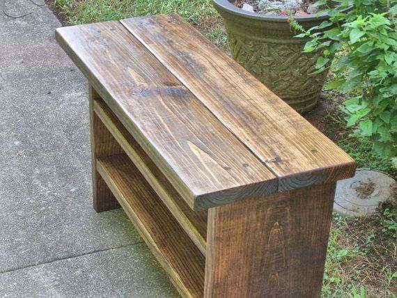Tall Rustic Bench Entryway Hallway Mudroom Storage Bench Shoe Bench 36 Inch Rustic Bench Mudroom Storage Bench Pallet Furniture Bench