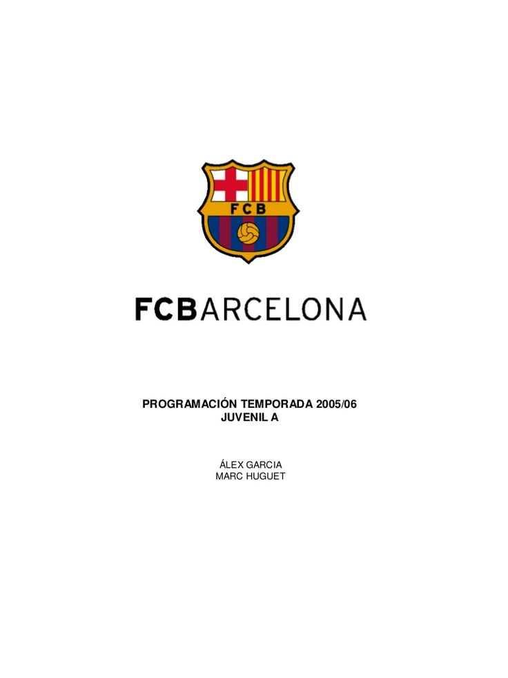 sesiones-fc-barcelona-juvenil-2 by Futbol-entrenamientos Willy Fdez via Slideshare