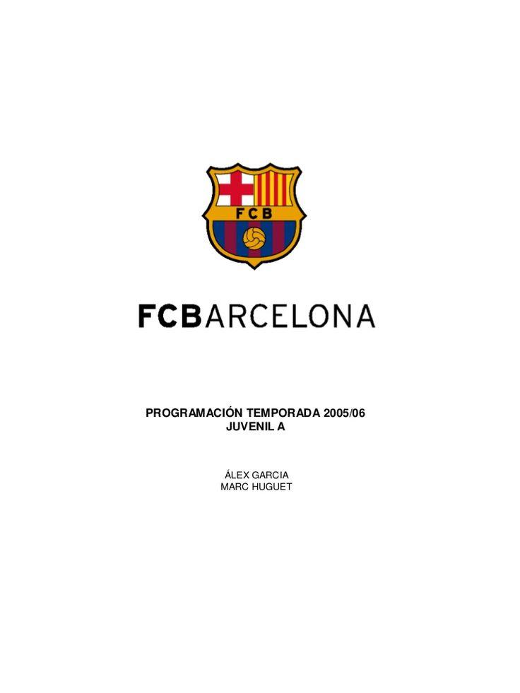 sesiones-fc-barcelona-juvenil-2 by Futbol-entrenamientos Willy Fdez via Slideshare