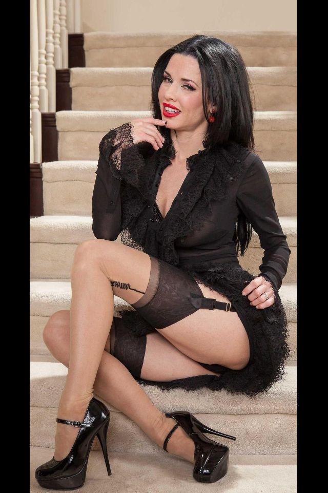 Ольга в чулках порно фото