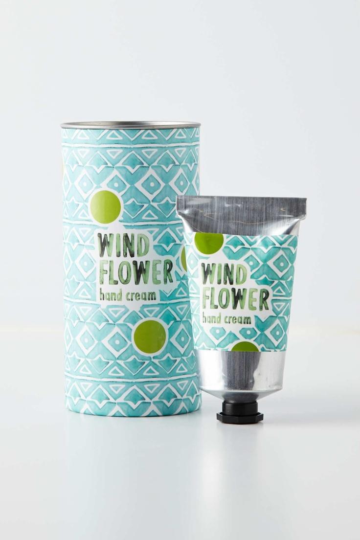 Odessa Hand Cream, watercolors packaging