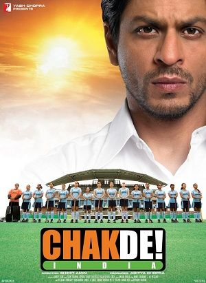 """Chak De! India."" Such a good movie about the national field hockey girls' team."