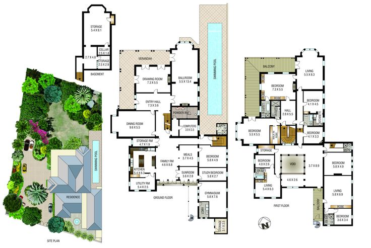 Iona Darley Street Darlinghurst Sydney Floor Plans