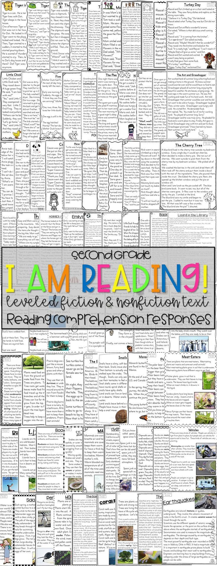 89 Original Second Grade Leveled Reading Passages And Close Reading Activities Perfectly Aligne Reading Comprehension Reading Passages Leveled Reading Passages [ 1913 x 736 Pixel ]