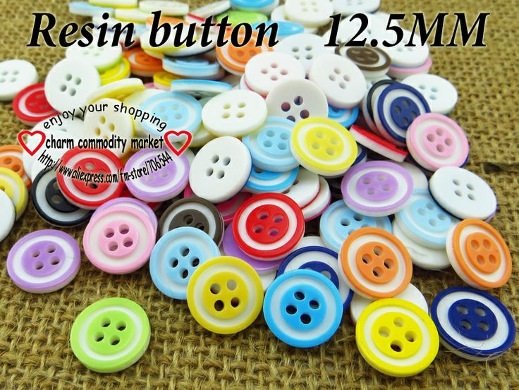 200PCS  child clothes skirt resin button shirt clothing sewing buttons craft R-107 $3,73