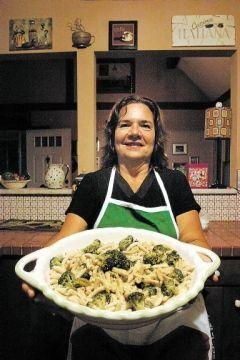 Fleetville woman's Cavatelli and Broccoli simple and delicious