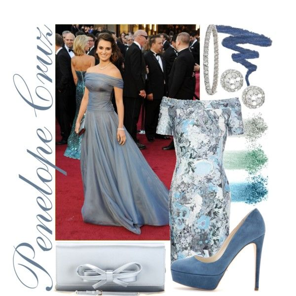 Penolope Cruz Red Carpet Look, created by itscindylou