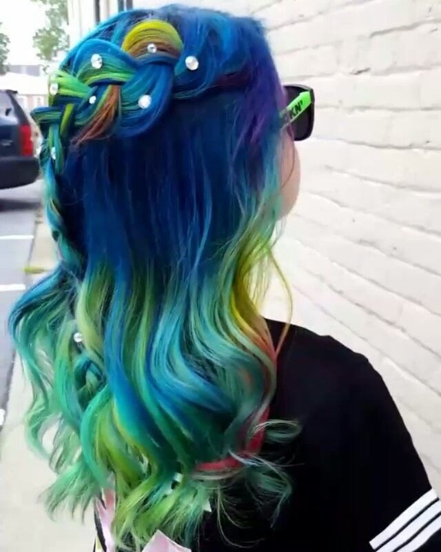 Come as you are  Rainbow snowball video  #pulpriothair @pulpriothair #brazilianbondbuilder #embeemeche #framarint ##behindthechair #modernsalon #beautylaunchpad #hotonbeauty #americansalon #hairbykaseyoh #fiidnt #hairvideo #hairvideos