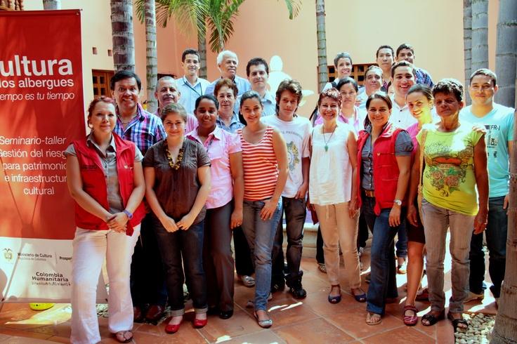 Los participantes del Seminario