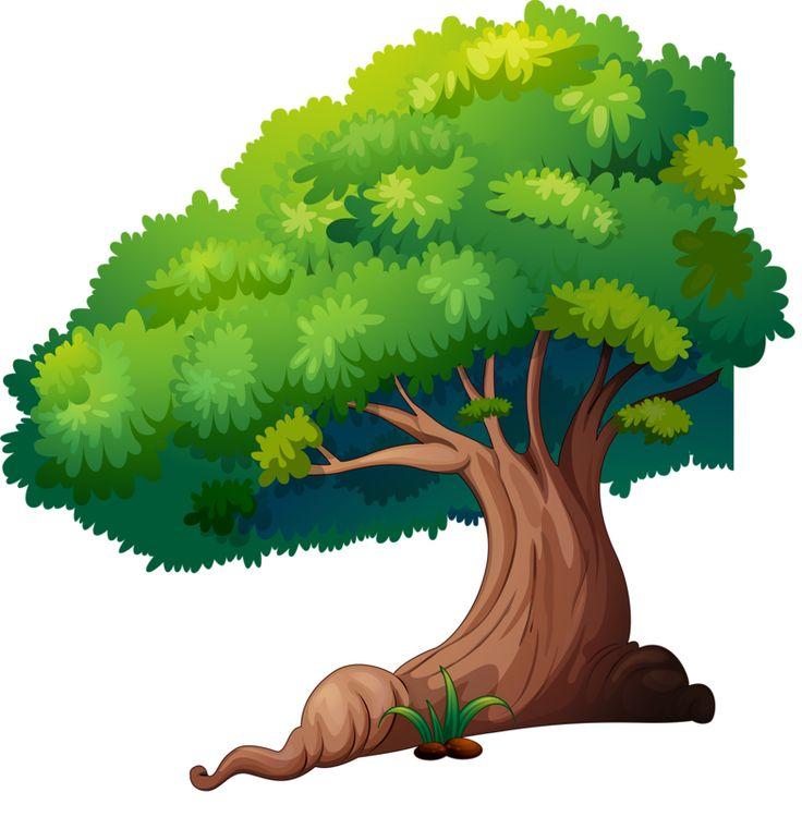 сказочные деревья картинки для