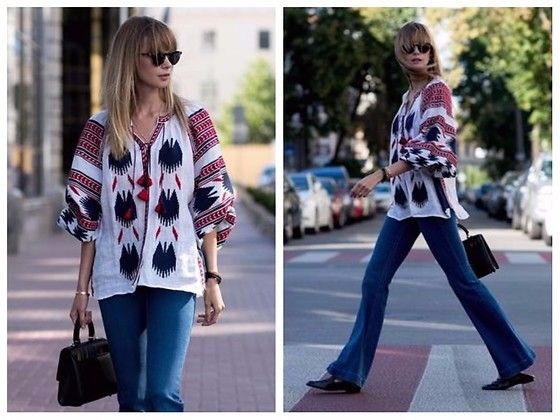 Get this look: http://lb.nu/look/8769627  More looks by Anastasiia Masiutkina: http://lb.nu/anastasiiamas  Items in this look:  Vita Kin Top, Stella Mc Cartney Jeans, Massimo Dutti Shoes, Les Petits Joueurs Bag   #bohemian #casual #chic #streetstyle #eatdresstravel #anastasiiamasiutkina #fashionblogger #fashionista #vitakin
