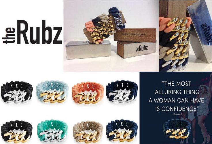 Love these bracelets from the Rubz